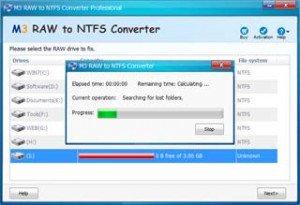 Файловая система RAW как вернуть NTFS