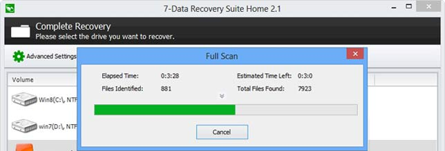 восстанавливаем файлы с 7-Data Android Recovery