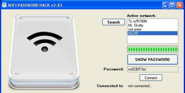 Программы для взлома/подбора паролей от wi fi