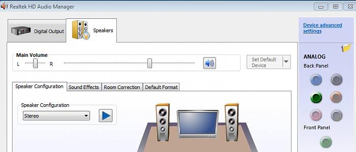 Как восстановить звук