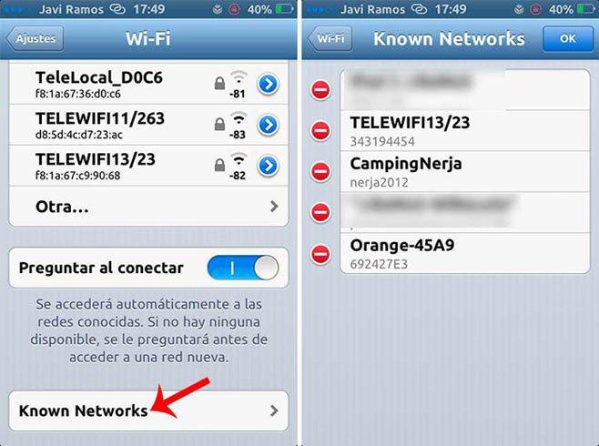 NetworkList на айфон в действии - узнаем пароль wi-fi