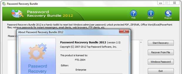 Скачать Elcomsoft System Recovery Professional