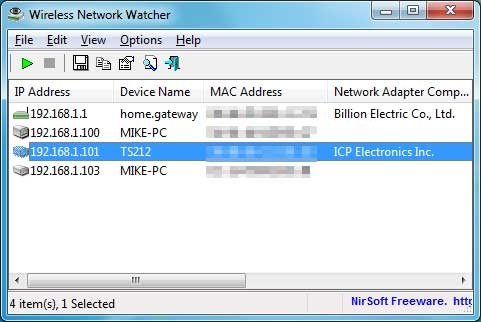 Загрузить Wireless Network Watcher