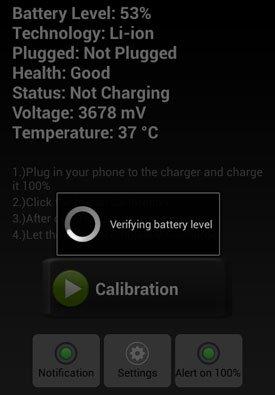 Приложения и программы для калибровки батареи Android