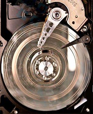 Поломка HDD (жесткого диска)