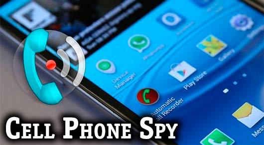Cell Phone Spy для слежки за телефоном