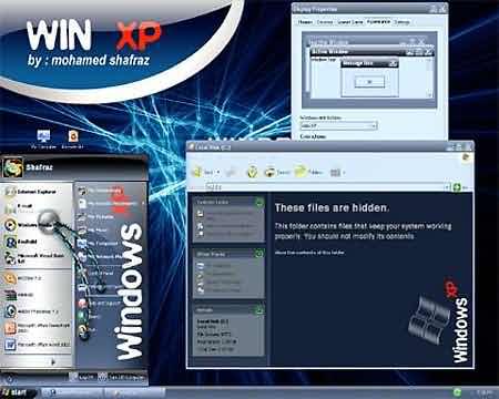 Скачать стилизованное оформление для Windows