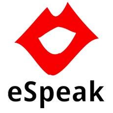 ESpeak для синтеза речи